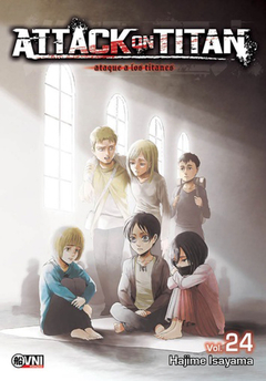 Attack on Titan (ataque a los titanes) vol. 24
