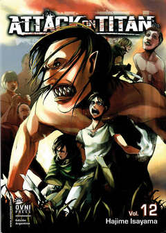 Attack on Titan (ataque a los titanes) vol. 12