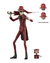 NECA - The Conjuring Universe - Ultimate Crooked Man en internet