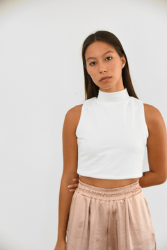 CROPPED ALMO - off white