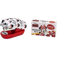 Mini Grampeador Disney Minnie/Mickey Molin - comprar online