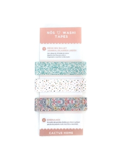 Trio de washi tapes - Garden