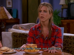 Friends • Rachel Freak Out na internet