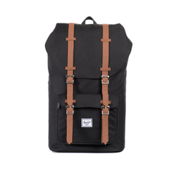 Mochila Little America Black/Tan