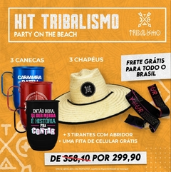 Kit Tribalismo:  Party on the beach