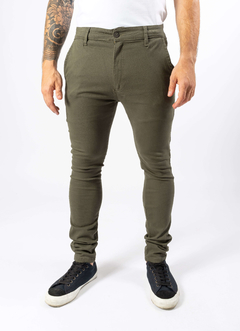Chino Color Verde militar