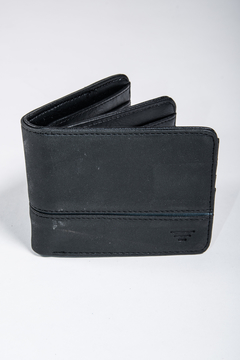 Billetera Triple Line Negro