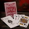 BICYCLE CHAINLESS RED (ROJO) NAIPES POKER