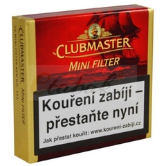 CLUBMASTER MINI FILTER VANILLA CAJA X20 - Estate Pipes Buenos Aires