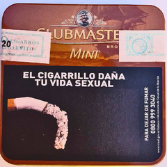 CLUBMASTER MINI BROWN LATA X20 - Estate Pipes Buenos Aires