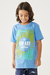 Camiseta Juvenil Hawaii Beach Federal Art - loja online