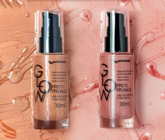 Glow Primer Multifuncional FPS 70 / FPUVA 55 Rose Gold 30ml na internet