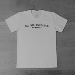T-SHIRT BAD INFLUENCE CLUB - LEAL ROCHA STORE