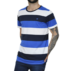 Remera Sailing Stripes - Código 10041-2 - Mistral