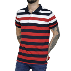 Polo Hike Stripe MC - Código 20017-7 - comprar online