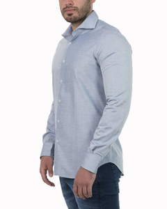 Camisa Emanuelle Rattier Slim Fit ML - Código 35029-1