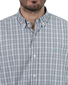 Camisa Camisa Boris Checks Regular ML - Código 35031-6 - Mistral