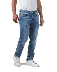 Jean Boston Bleach Slim Fit - Código 50053
