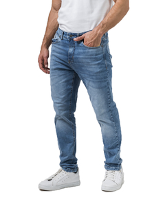 Jean Boston Bleach Slim Fit - Código 50053 - comprar online