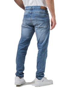 Jean Boston Bleach Slim Fit - Código 50053 - tienda online