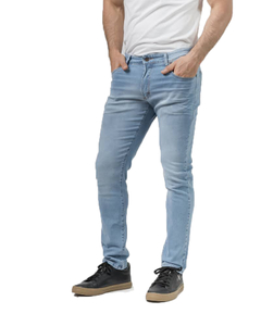 Jean Blass Light Blue Slim Fit - Código 50057