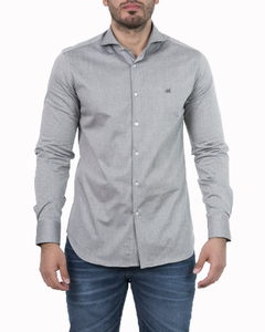 Camisa Emanuelle Rattier Slim Fit ML - Código 35029-4