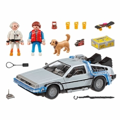 Back to the Future Delorean - Playmobil en internet