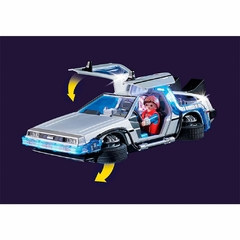 Back to the Future Delorean - Playmobil - Darkco Clothing