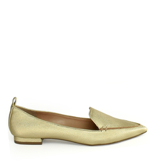 Sapatilha Loafer Floater Ouro