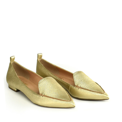 Sapatilha Loafer Floater Ouro na internet