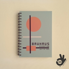 Agenda Bauhaus Tapa Dura Ring Wire/ Modelo 6: ORANGE CIRCLE en internet