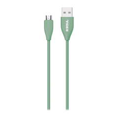 Cable Usb Soft 2 Mts 2.0 Soul ficha Micro USB - bgdigital