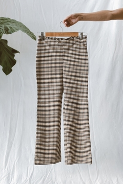 PANTALON CAPRI ESCOCES
