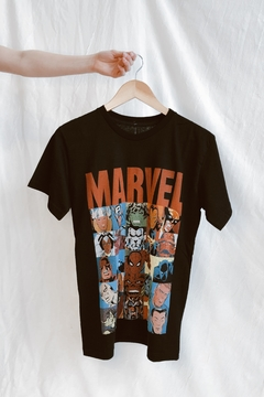 REMERA MARVEL ALL CARACTERS