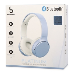 Fone de Ouvido Wireless Bluetooth Bass Jaxx Platinum