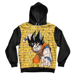 BLUSA MOLETOM DRAGON BALL Z na internet