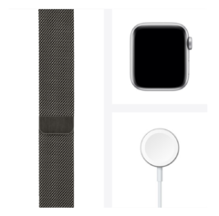 Apple Watch Series 6 (GPS + Cellular, 40mm, Graphite Stainless Steel, Graphite Milanese Loop Band) - comprar online