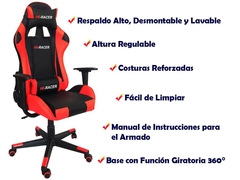 Sillon Gamer Reclinable - 5727 en internet