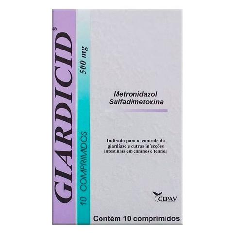 metronidazol giardia perros
