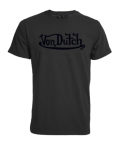 CAMISETA VON DUTCH LOGO SIGNATURE STONE