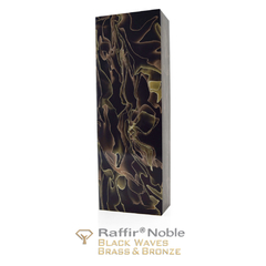 Raffir Noble Black Waves Brass & Bronze