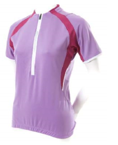 CAMISETA BELLWETHER FEMININA FUSION ROXA