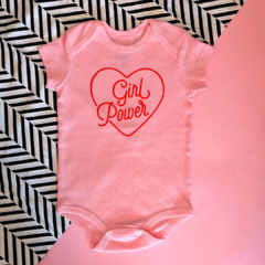 Body para Bebê | Girl Power
