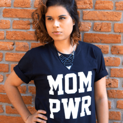 Camiseta Materna | MOM PWR