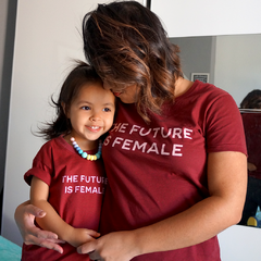 Camiseta Infantil | The Future is Female - comprar online