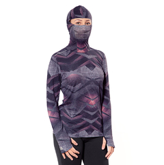 CAMISETA NINJA FEMININA ESTAMPA DIGITAL UV50+ | REF. 322