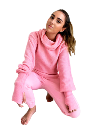 Tricot cropped oversize ROSA