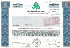 Microterra, Inc.