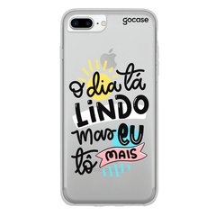 CAPINHA IPHONE 7 PLUS/8 PLUS MEU DIA STD - GOCASE