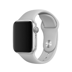 PULSEIRA APPLE WATCH 42/44MM - SILICONE CINZA